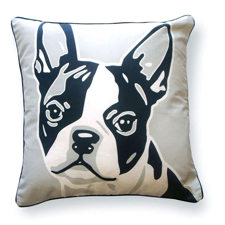 terrier x products case cover boston d throw mostly paws pillow black