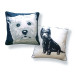 West Highland Terrier Pillow – front/back
