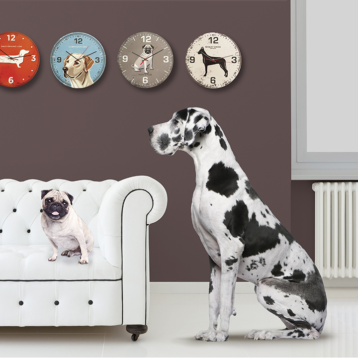 great dane vintage clock - Dane Decor
