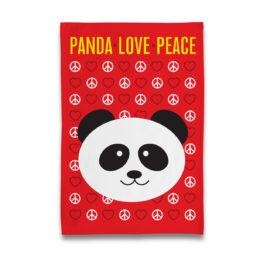 panda-love-peace-tea-towel