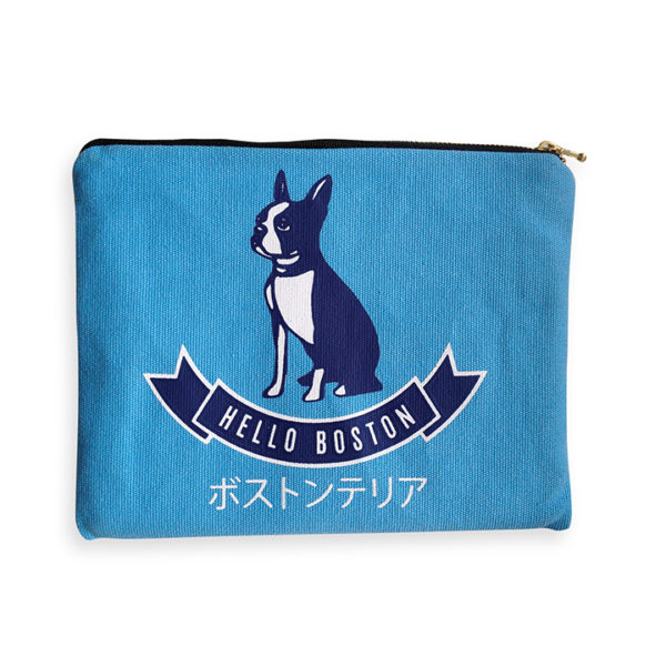 Hello Boston Amenity Bag - front