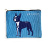 Hello Boston Amenity Bag - back