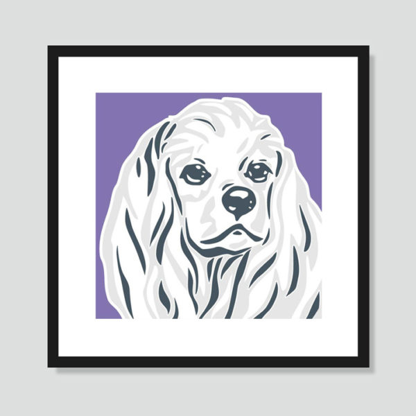 Cocker Spaniel Art Poster