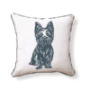 Yorkshire Terrier Pillow - front